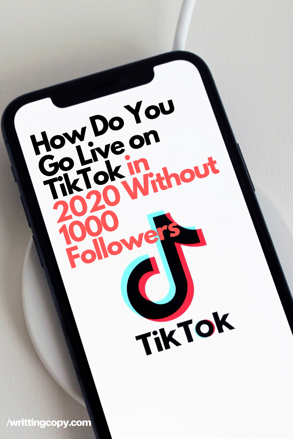 How To Go Live On Tiktok How To Get Followers Chinese Social Media Social Media