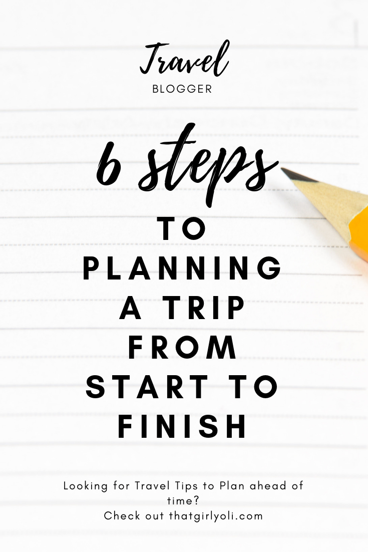 How to plan a trip from start to finish #trip #travel #