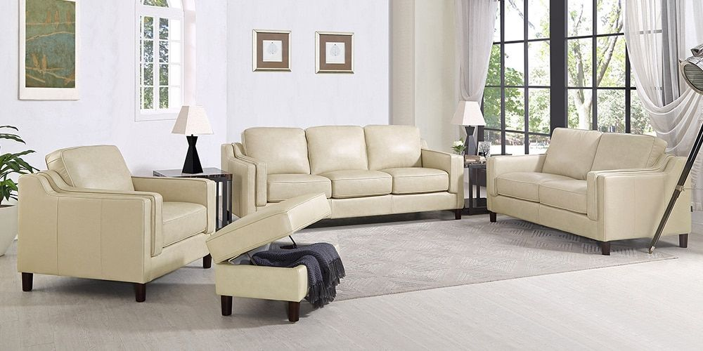 Dobson Costco Leather Sofa And Loveseat Top Grain Leather Sofa Chair And Ottoman
