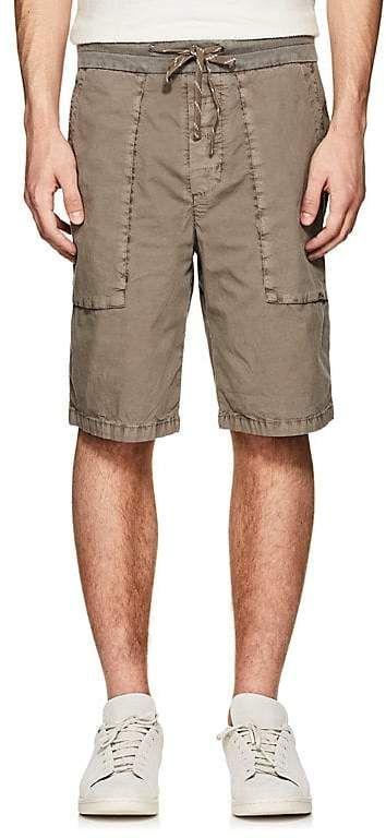 Mens Washed Cotton Poplin Shorts James Perse 4C4tum6