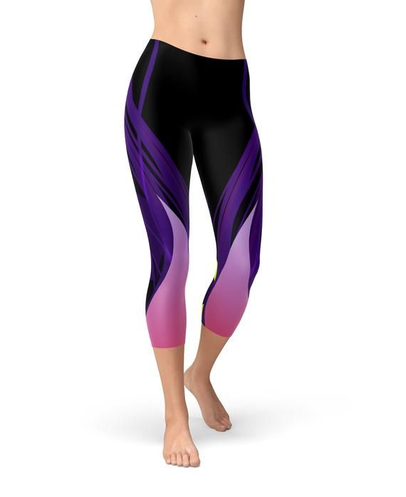 5c4584def1cdc Evil Fairy Leggings for Women (Capri Length) Feeling like you want to curse  someone?? Well, go for a run instead in these vibrant, fairytale inspired  ...