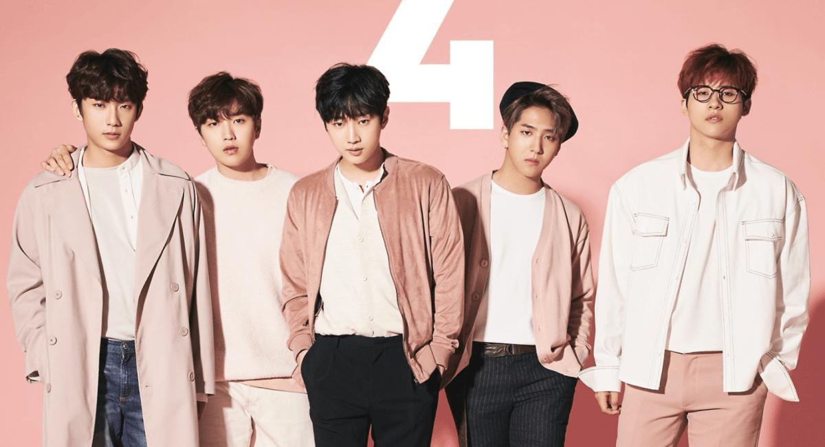 """B1A4 fica em #2 na Oricon com seu novo álbum japonês """"4"""""""