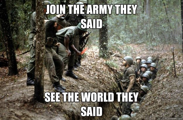 Image result for us army infantry humor memes