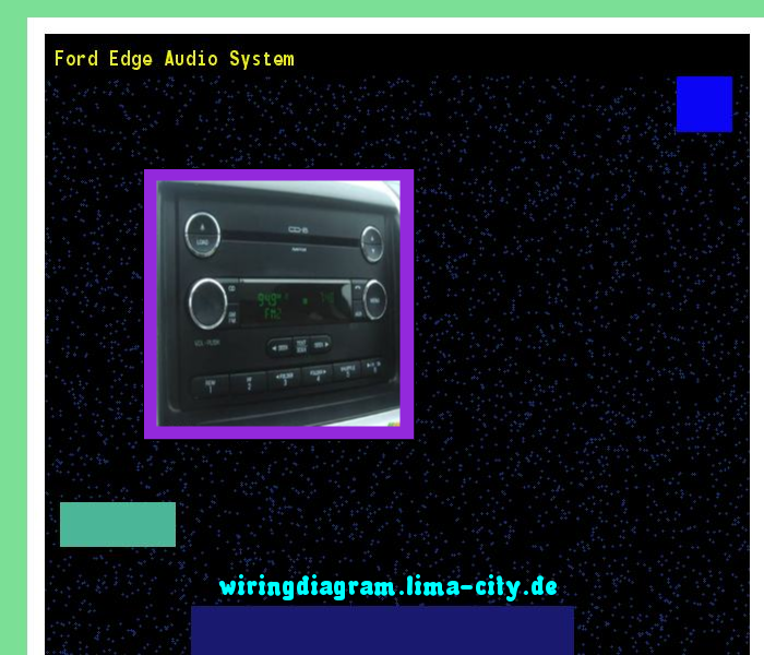 Ford Edge Audio System  Wiring Diagram 175229