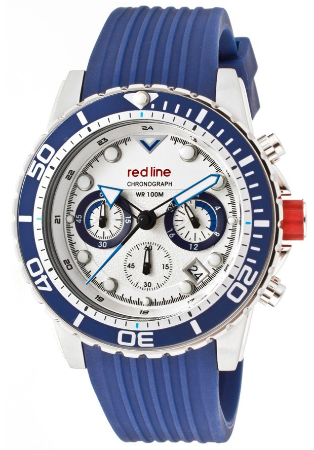Price:$179.00 #watches Red Line 50034-02-BL-ST, An aura of brilliance. This Red Line timepiece glows with its irradiant charm. Its smooth design will intensify anyone's personality.