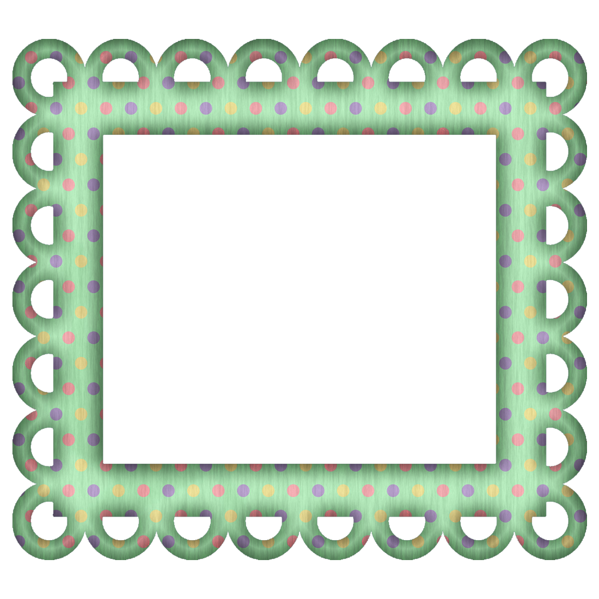 picture frames for scrapbooking free free green polka digi scrapbook frame