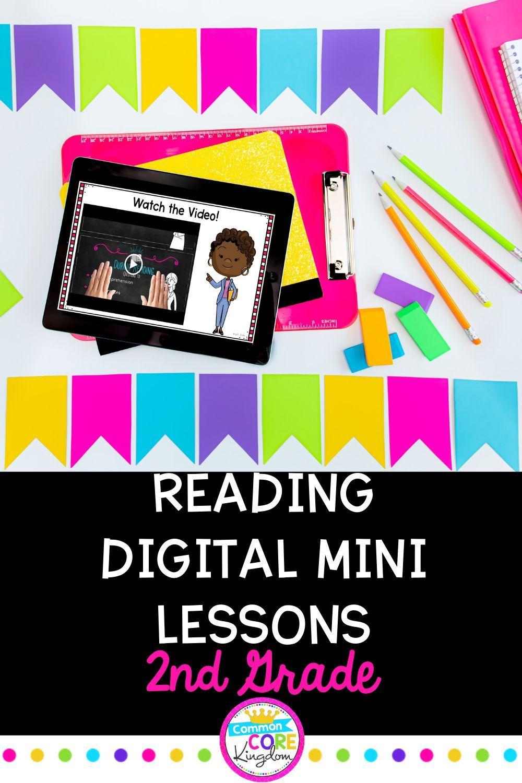2nd Grade Reading Mini Lessons Bundle Google Slides Seesaw Distance Learning Reading Mini Lessons Mini Lessons 2nd Grade Reading Reading mini lessons grade