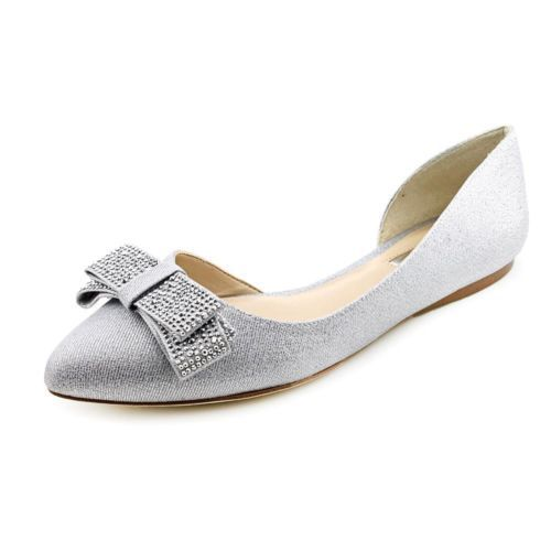 INC-International-Concepts-Celya-Fabric-Flats-Shoes-Used