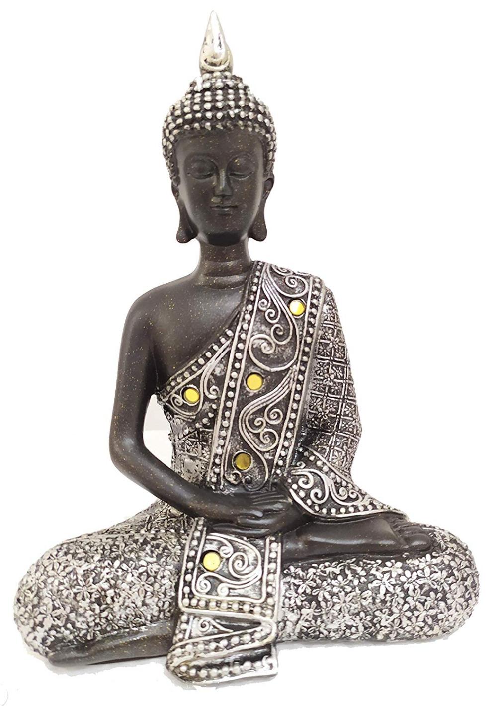 Amazon Com Homerry Thai Meditating Buddha Statue For Interior