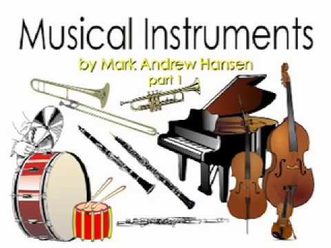 Musical Instruments Sounds Orchestral #1 for Kids Children Kindergarten Preschoolers Toddlers