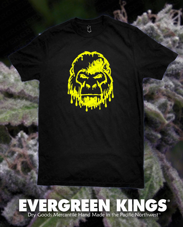 Strain Tees: Gorilla Glue #4 T Shirt by EvergreenKings on