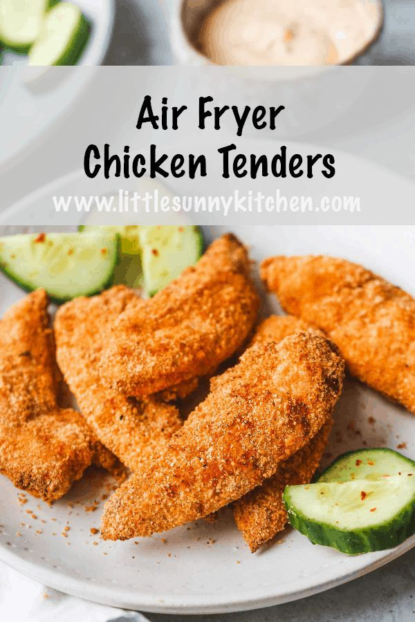 Crispy Air Fryer Chicken Tenders