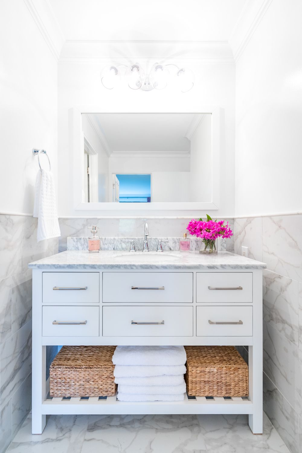 A Family Affair Turns Up The Style Dial Bathrooms Remodel Bathroom Remodel Cost Bathroom Design