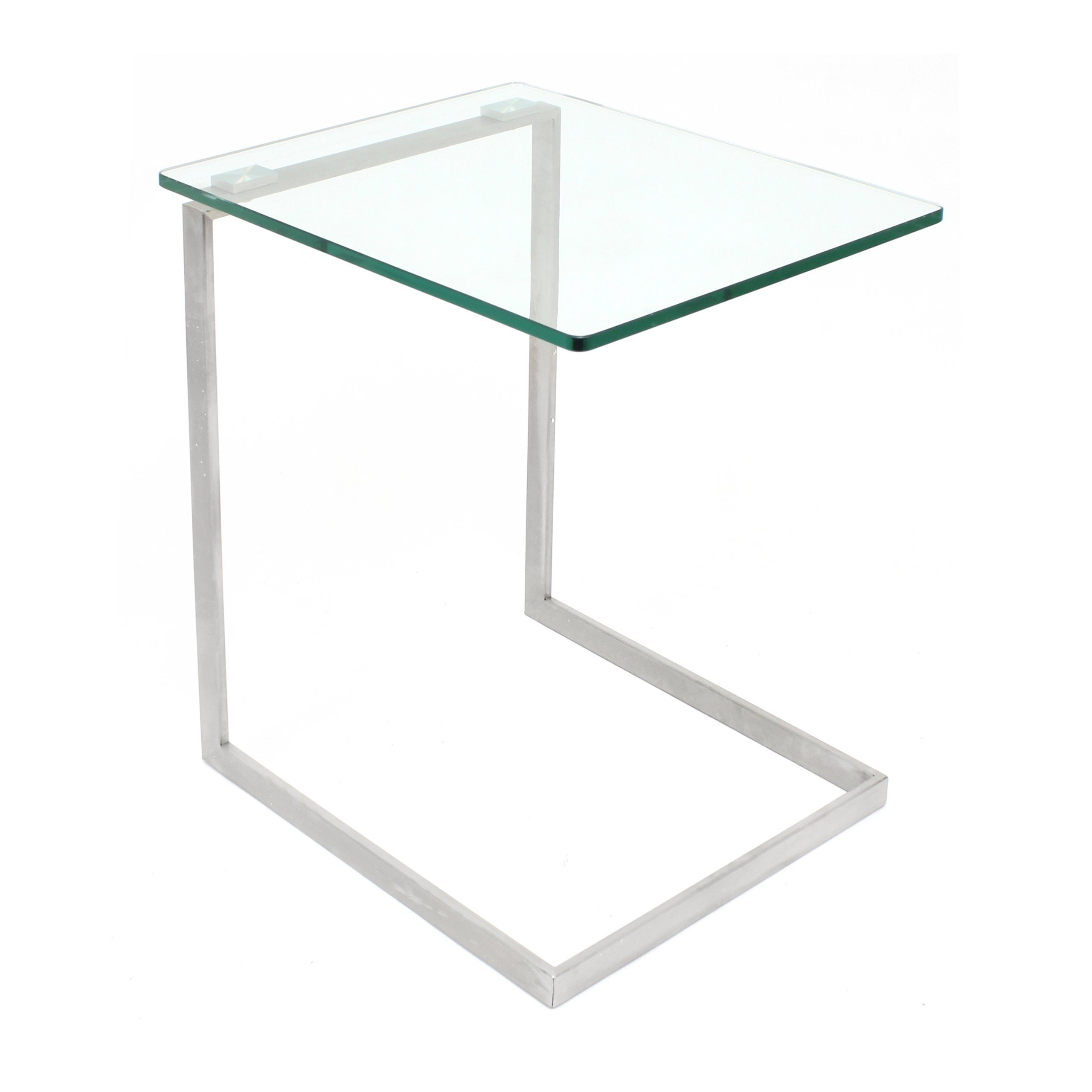 70 At Amazon Product Dimensions 19 2 Deep X 16 Wide X 22 High Inches Lumisource Zenn Glass End Ta Glass End Tables Contemporary End Tables Modern End Tables