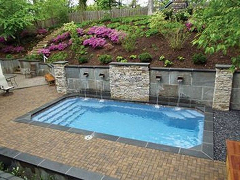 30 Stunning Small Backyard Designs Ideas With Pool Page 6 Of 32