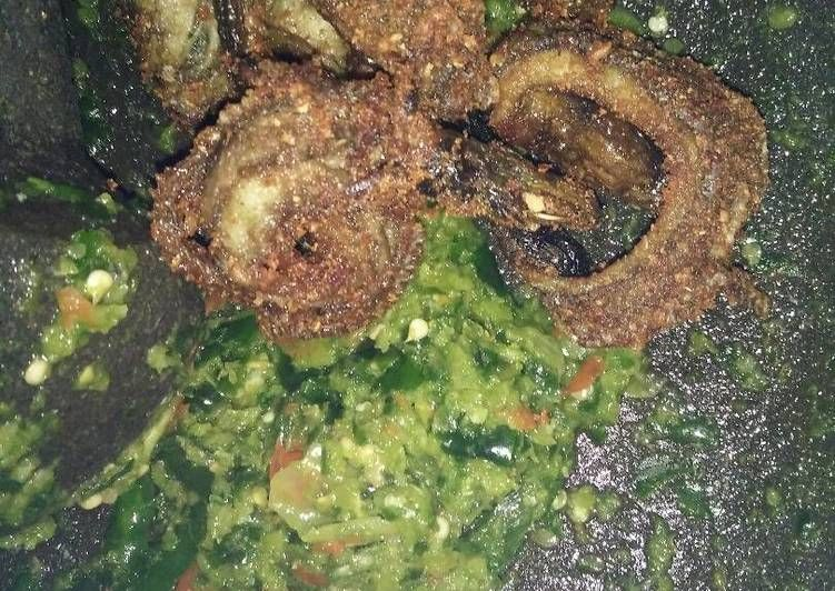 Resep Welut Gepuk Sambel Kencur Ijo Oleh Vinsa Irosea Resep Ayam Goreng Masakan Resep