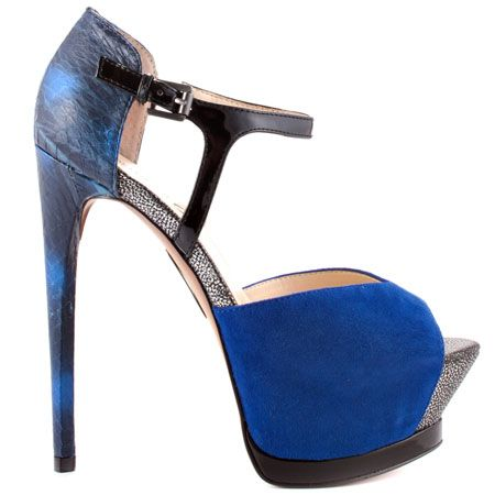 Nerissa - Blue Multi Suede by Boutique 9, My Wedding (Vow Renewal) Shoes!  Yeah!!