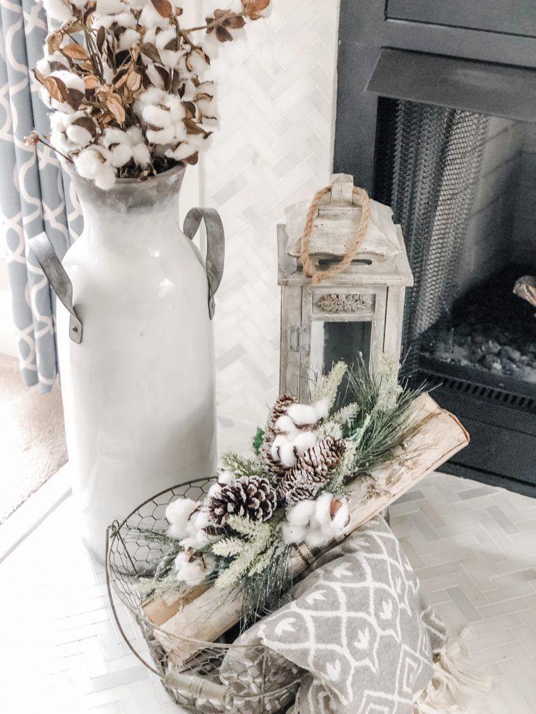 Photo of ¡Acogedora decoración de la sala de estar de invierno! ¡La transición perfecta después de Navidad! El | Colecciones Wilshire