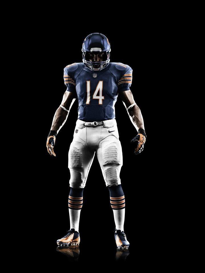 046f9ed482b3 Nike Football Chicago Bears  2012 Nike Elite 51 Uniform