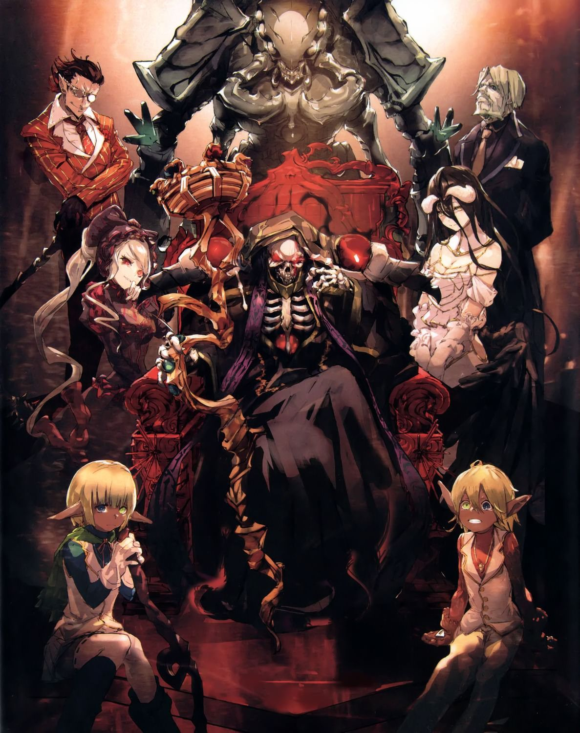 Some of SoBin's other Overlord Art (With images) Anime