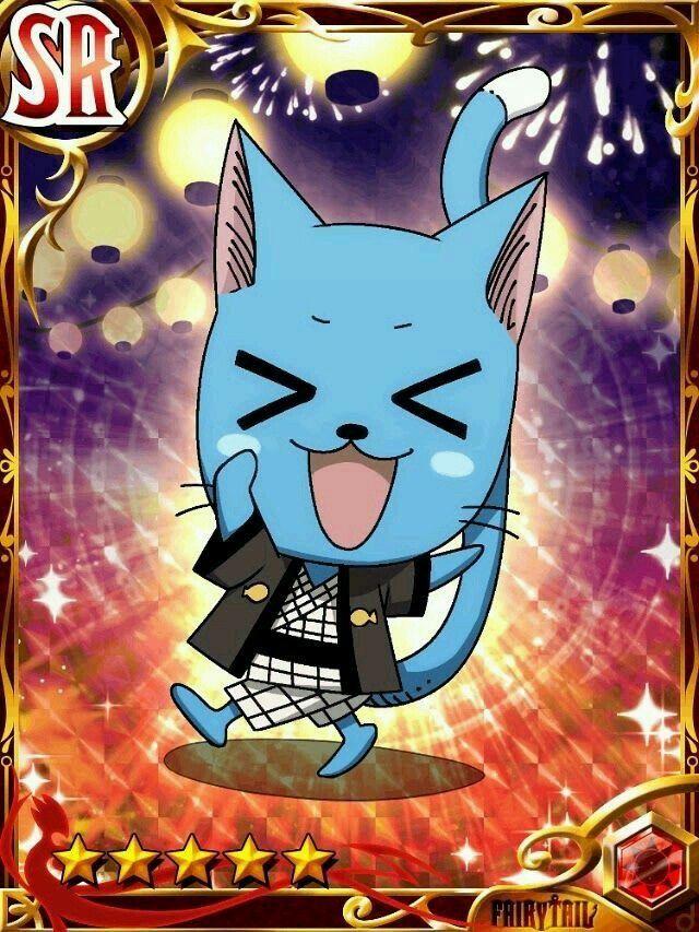 Fairy Tail Brave Guild Happy Anime, Fairy tail, Chơi bài