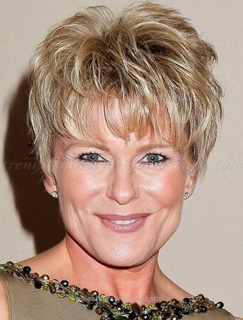 Short Messy Hairstyles Simple Short Messy Hairstyles With Bangs For Square Faces Women Over 50