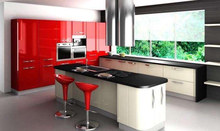 ▷ 1001 + ideas de decoración de cocina americana | Cocina moderna ...
