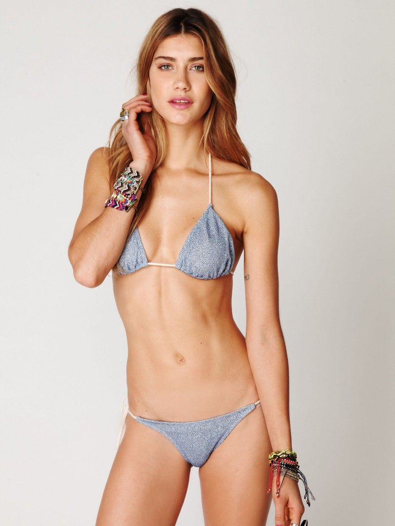 C string bikini models