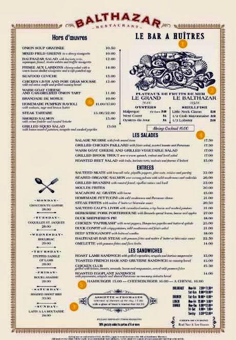 Balthazar A French Brasserie In New York  Bistros And Brasseries