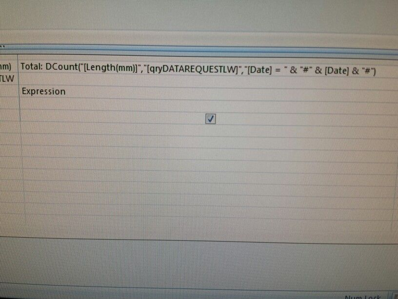 DCount or DSum by date field | MS Access Tips | Pinterest