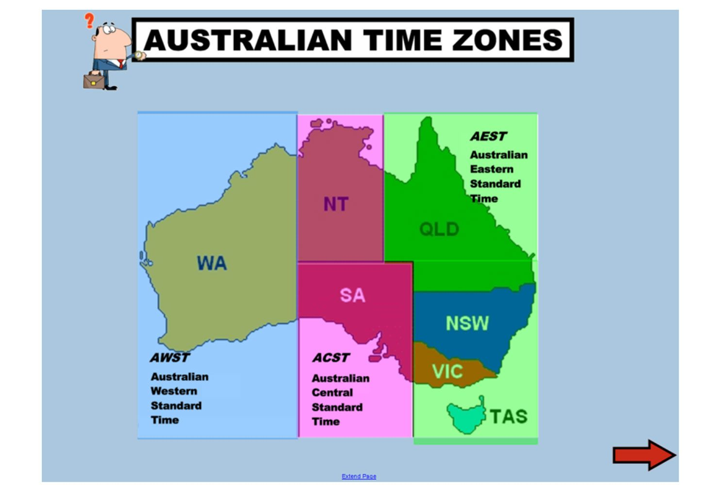 Worksheets Time Zones Worksheet learn all about australian time zones and daylight saving with this terrific iwb lesson