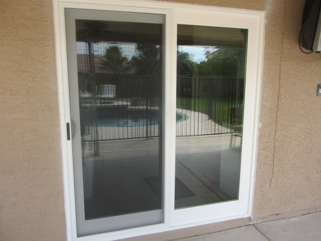 Window Awnings Home Depot Patio screen door, Sliding