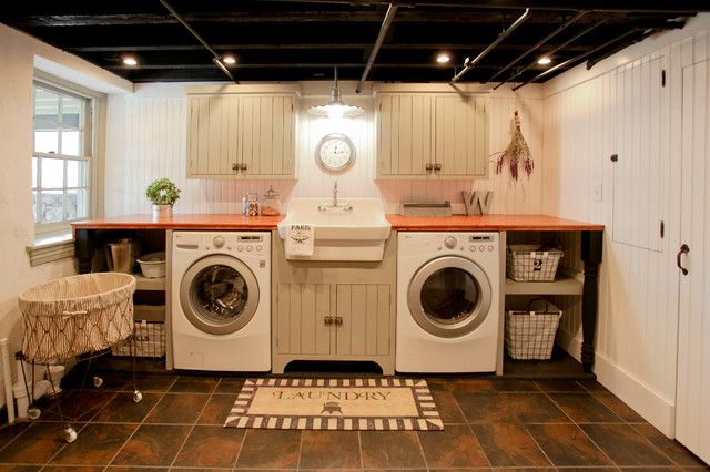 Basement Laundry Room Ideas Diy Design Unfinished Makeovver