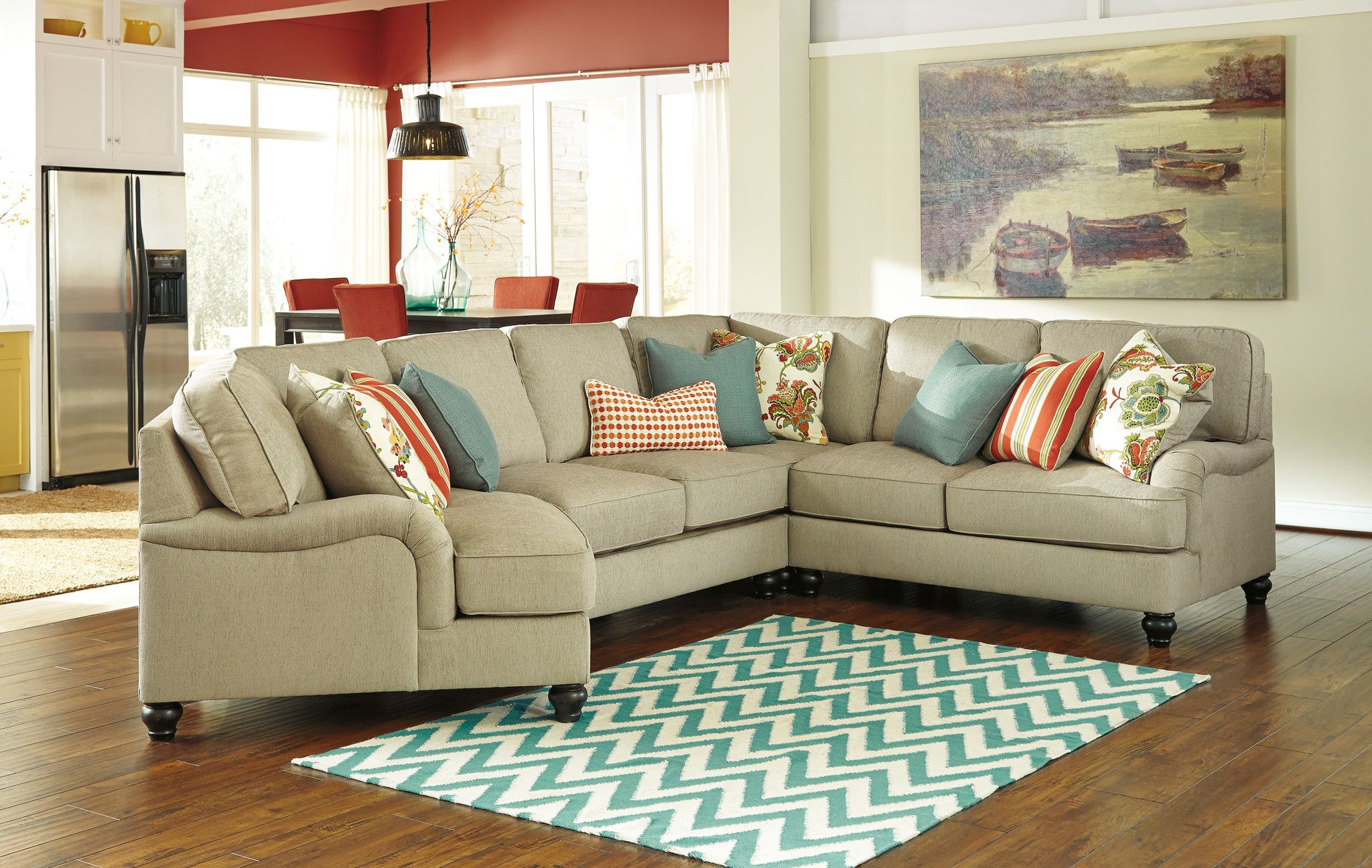 cuddler chaise sectional Google Search Furniture