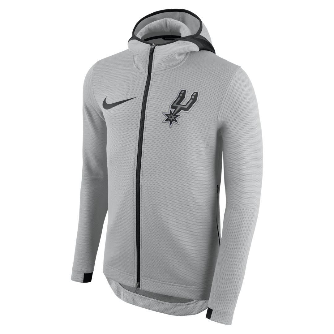 San Antonio Spurs Nike Therma Flex Showtime Men's NBA Hoodie