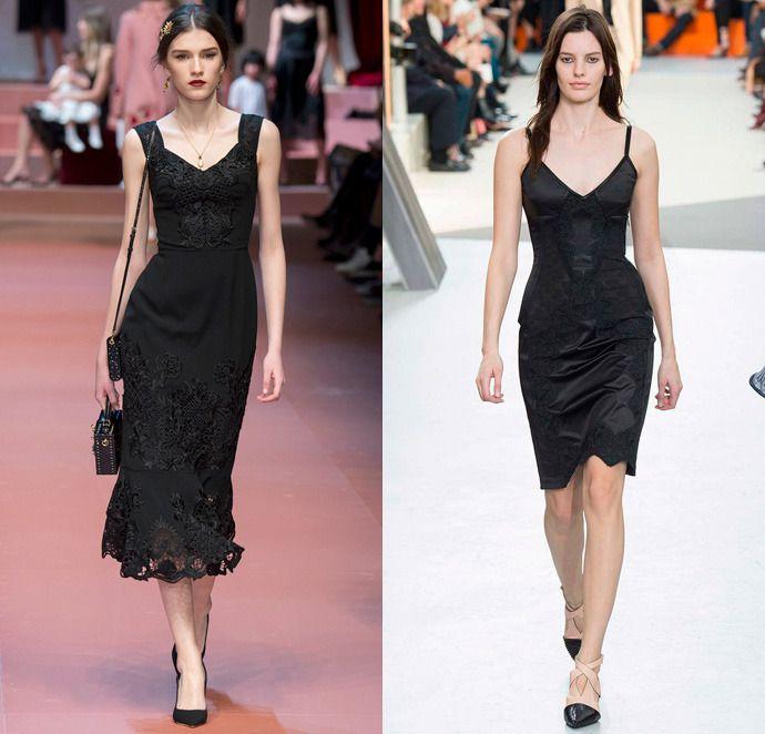 платье-комбинация 2016 фото