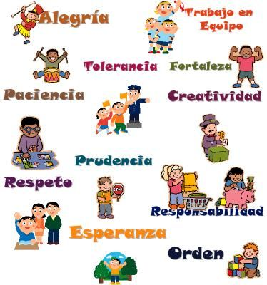 Excelente Glosario De Valores Animados Educacion De Valores Imagenes De Los Valores Valores Eticos Y Morales