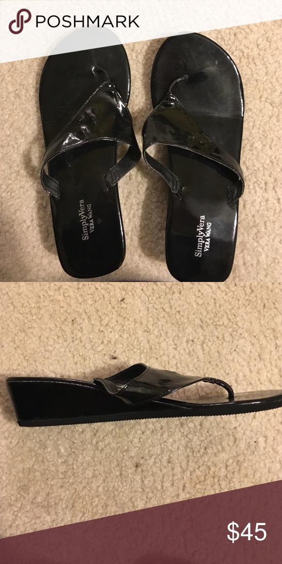 Vera Wang black sandals Vera Wang black sandals Vera Wang Shoes Sandals