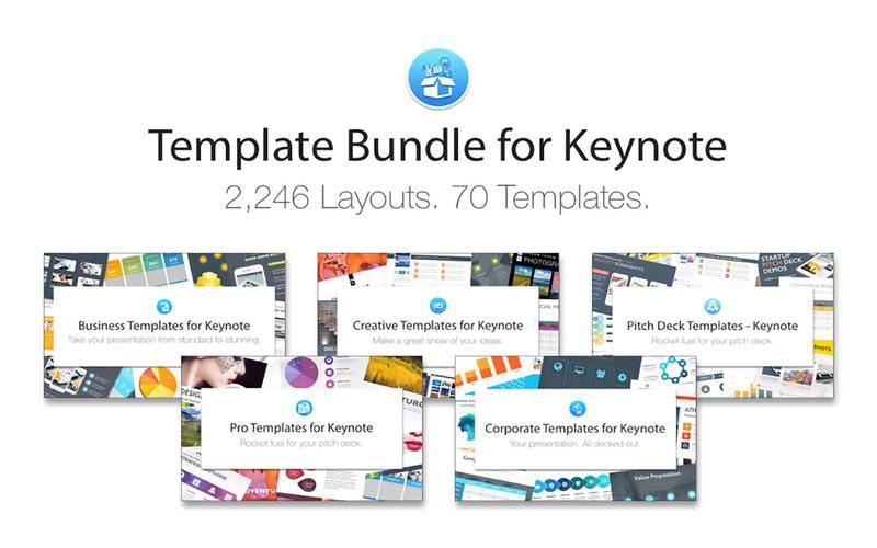 Template Bundle for Keynote by Deeda Designs Mac app