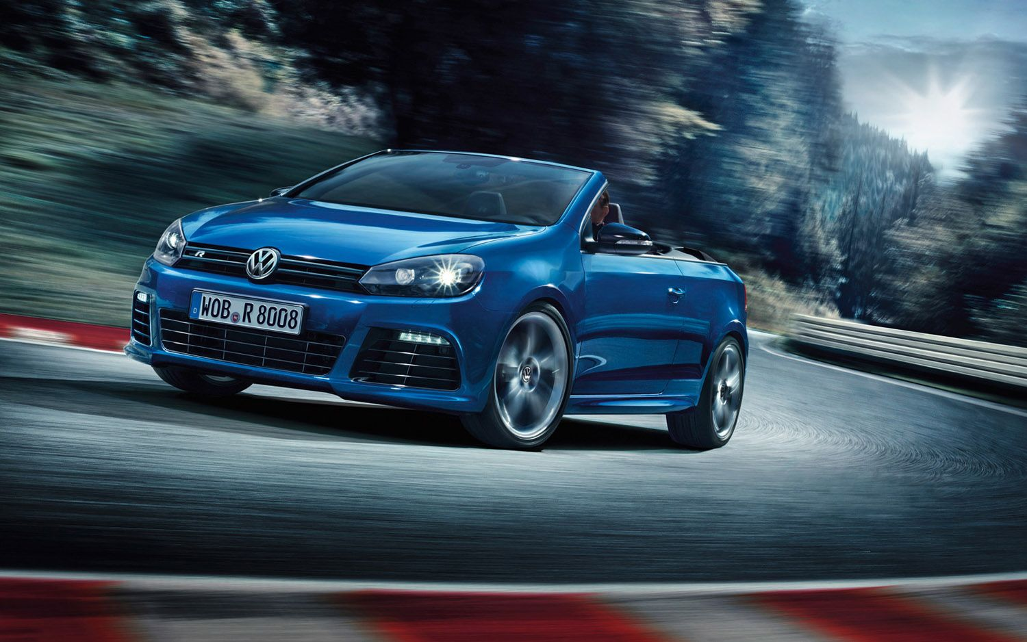 2014 VW Golf R Cabriolet front three quarter Photo on February 7 ...