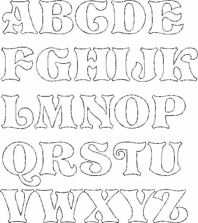 Graffiti Alfabesi, Alfabe Yazı