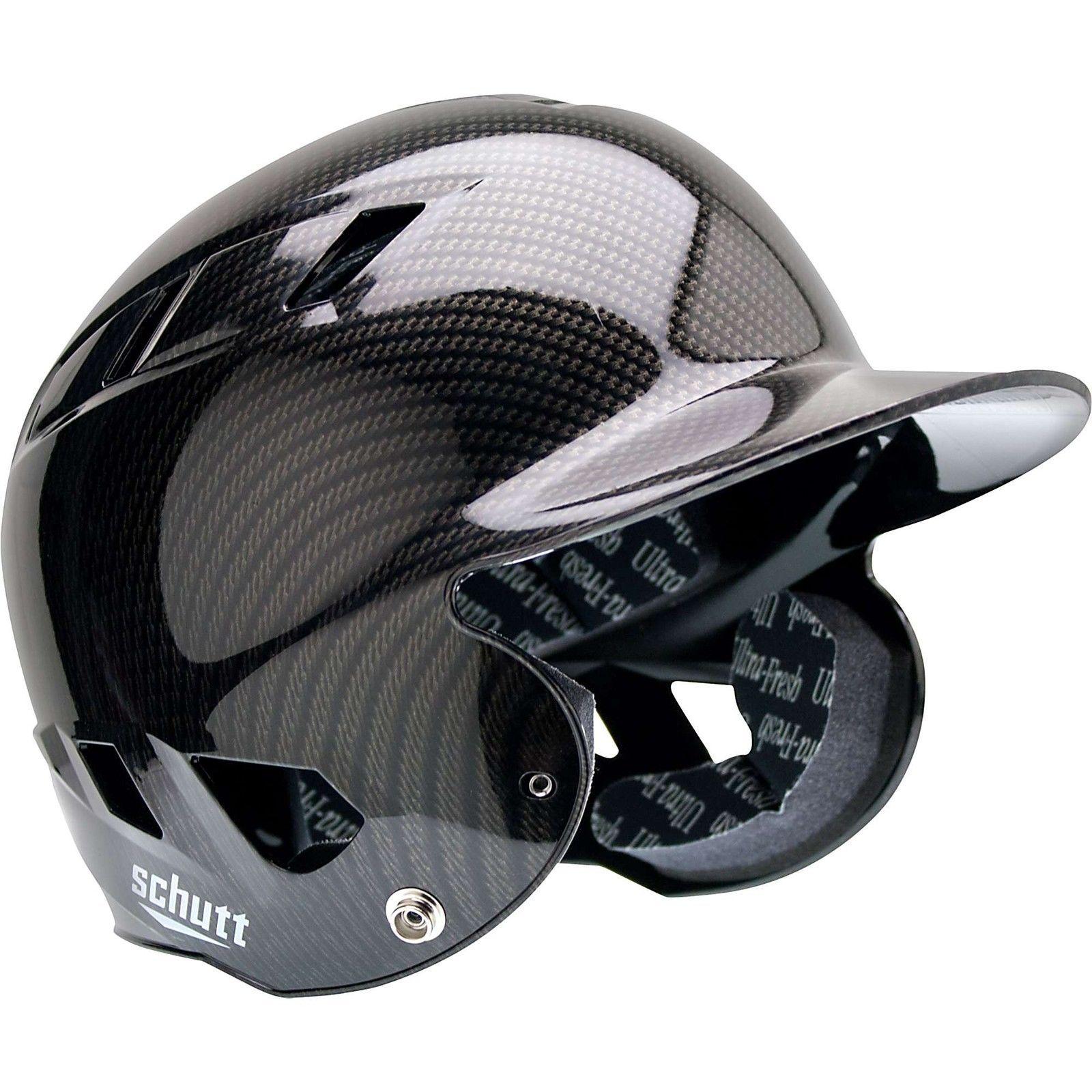 541d4d7f Schutt Osfa Air-6 Batting Helmet, Black/Gold/Carbon Fiber | Ultimate ...