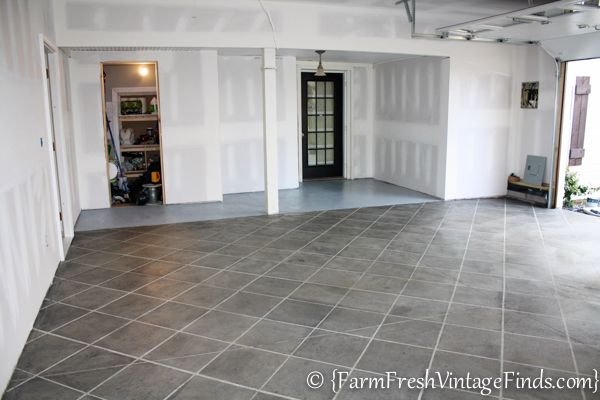 How To Stain Your Concrete Garage Floor On A Budget And