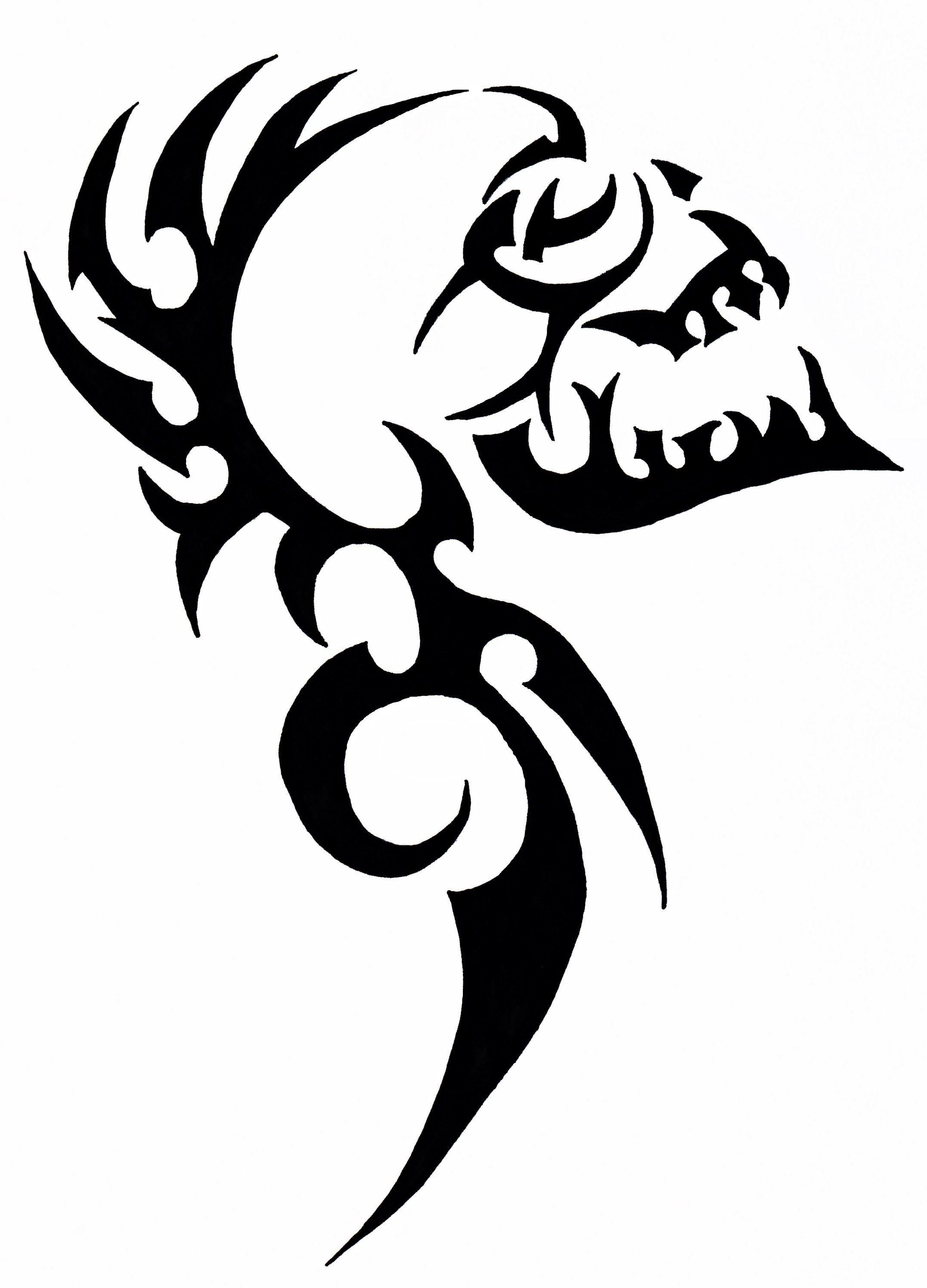 eaefaa2b1 Tribal skull Tribal Drawings, Tattoo Drawings, Tribal Art, Dragon Tattoo  Designs, Tribal