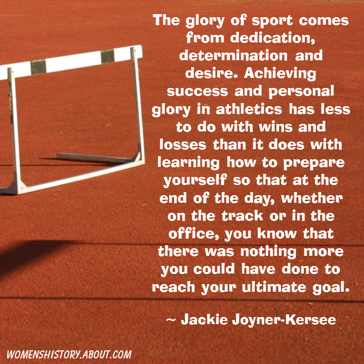 Motivational Quotes For Athletes: Jackie Joyner-Kersee Quotes: Track And Field Athlete