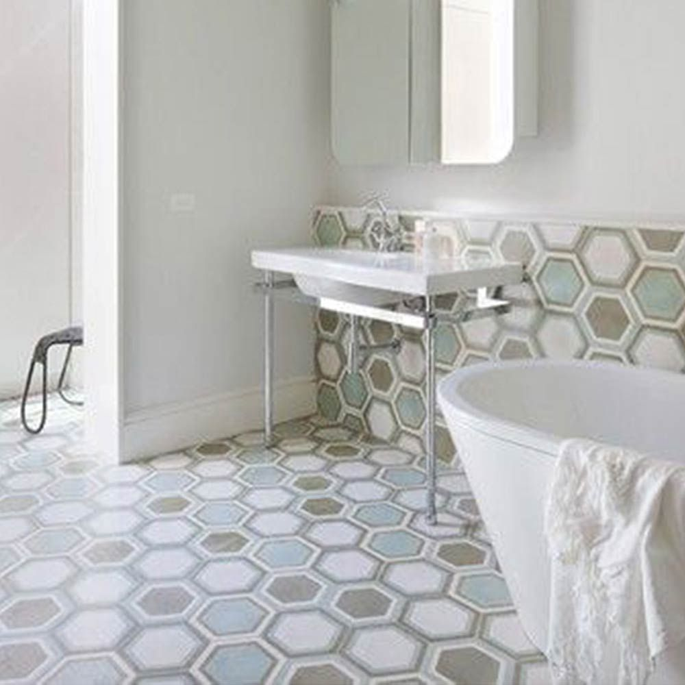 white cement for bathroom tiles bathroom exclusiv pinterest rh pinterest com Bathroom Cement Floor Cement Tile Shower