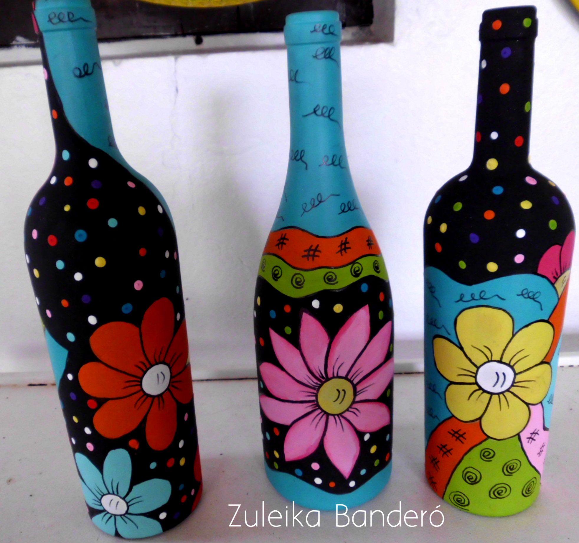 Resultado De Imagen Para How To Fabric Decoupage Wine Bottle Com