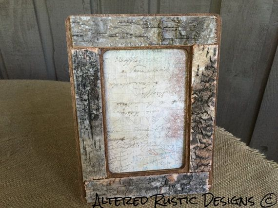 Birch frame/ frame with birch/ frame/ by AlteredRusticDesigns | Home ...