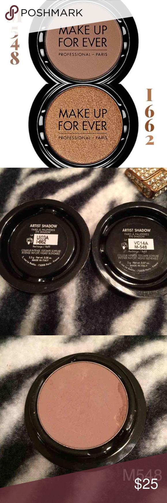 Make up for ever powder blush & eyeshadow refills