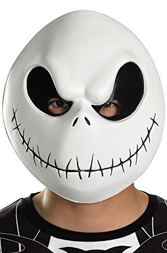 Disguise Mens The Nightmare Before Christmas Jack Skellington Mask